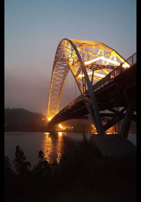 Adomi Bridge@ Akosombo
