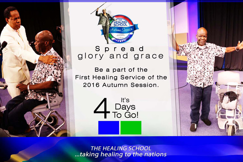 COUNTUP TO 1ST HEALING SERVICE