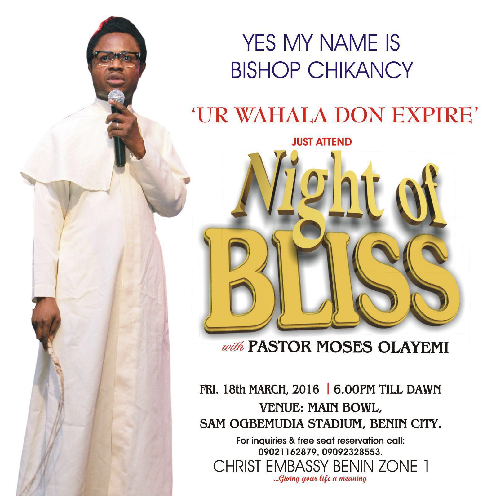 #NIGHTOFBLISSBENIN #NIGHTOFBLISSBENIN