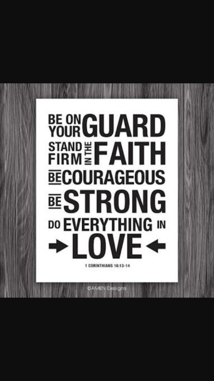 MY MEDITATION 1 Corinthians 16: