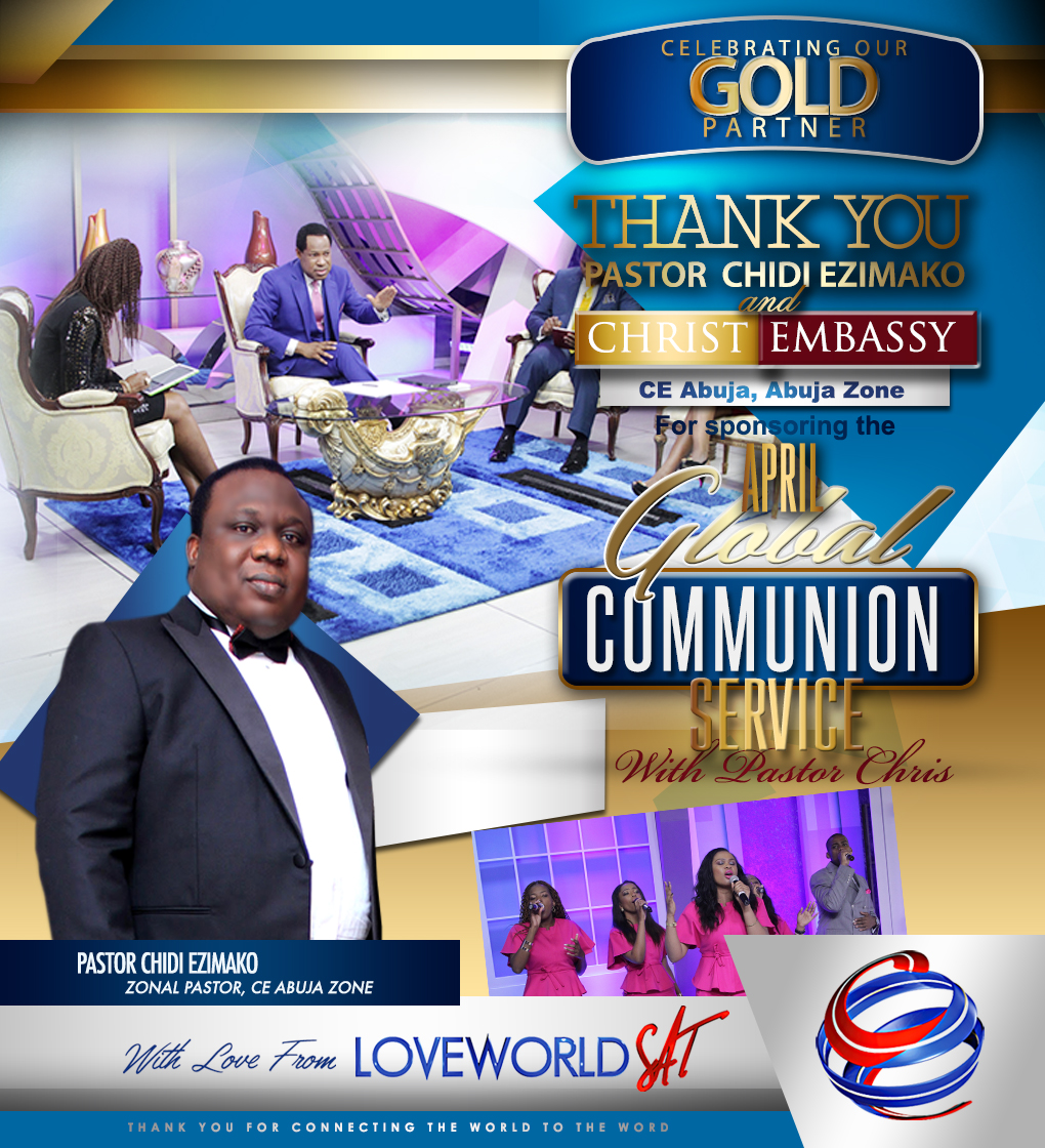Join #LoveWorldSAT As We Thank