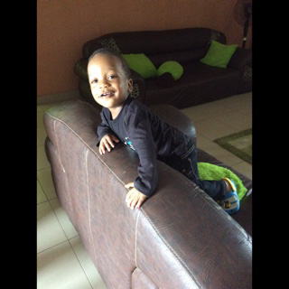 Nephew David...mighty man ...keep growing