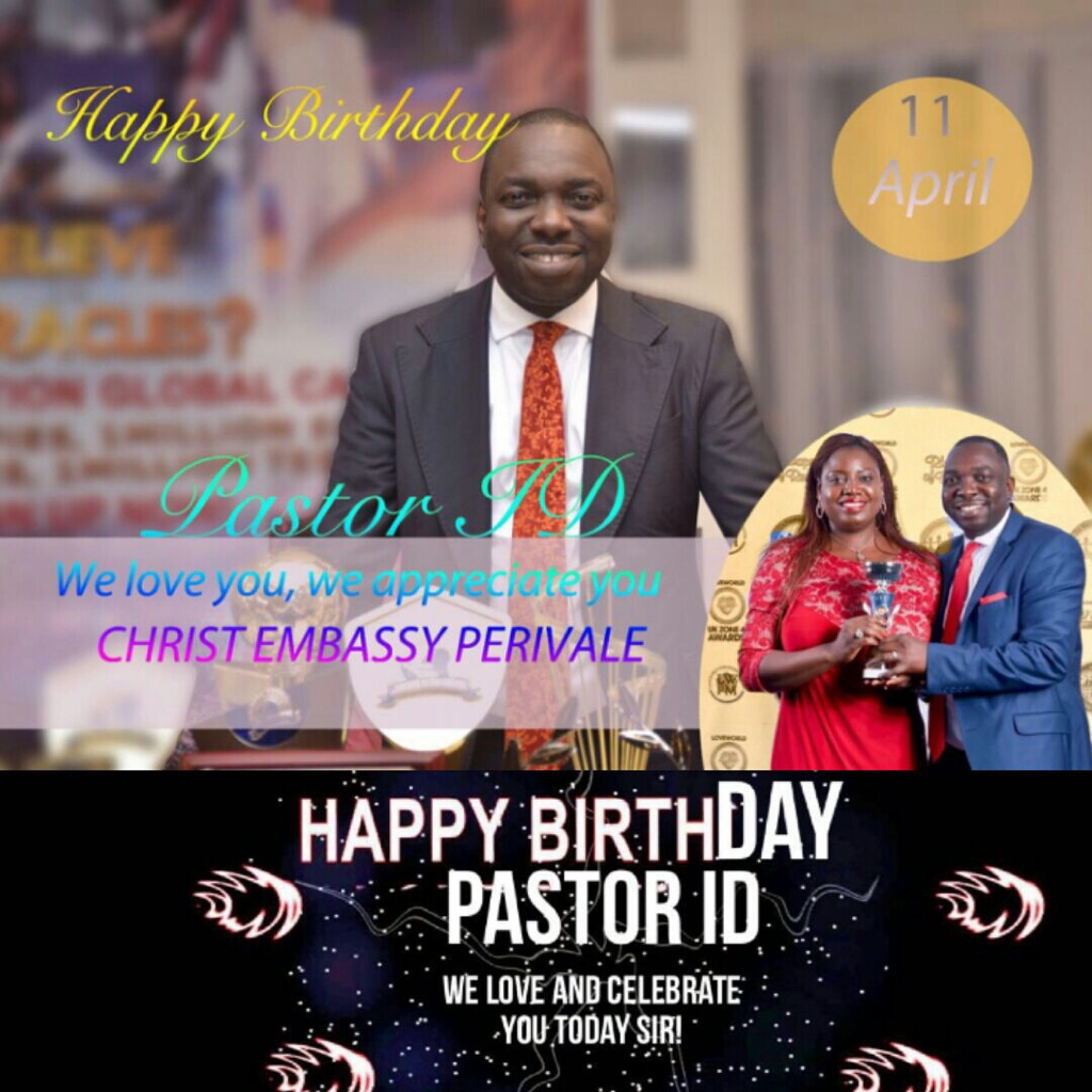 Happy birthday pastor ID sir.