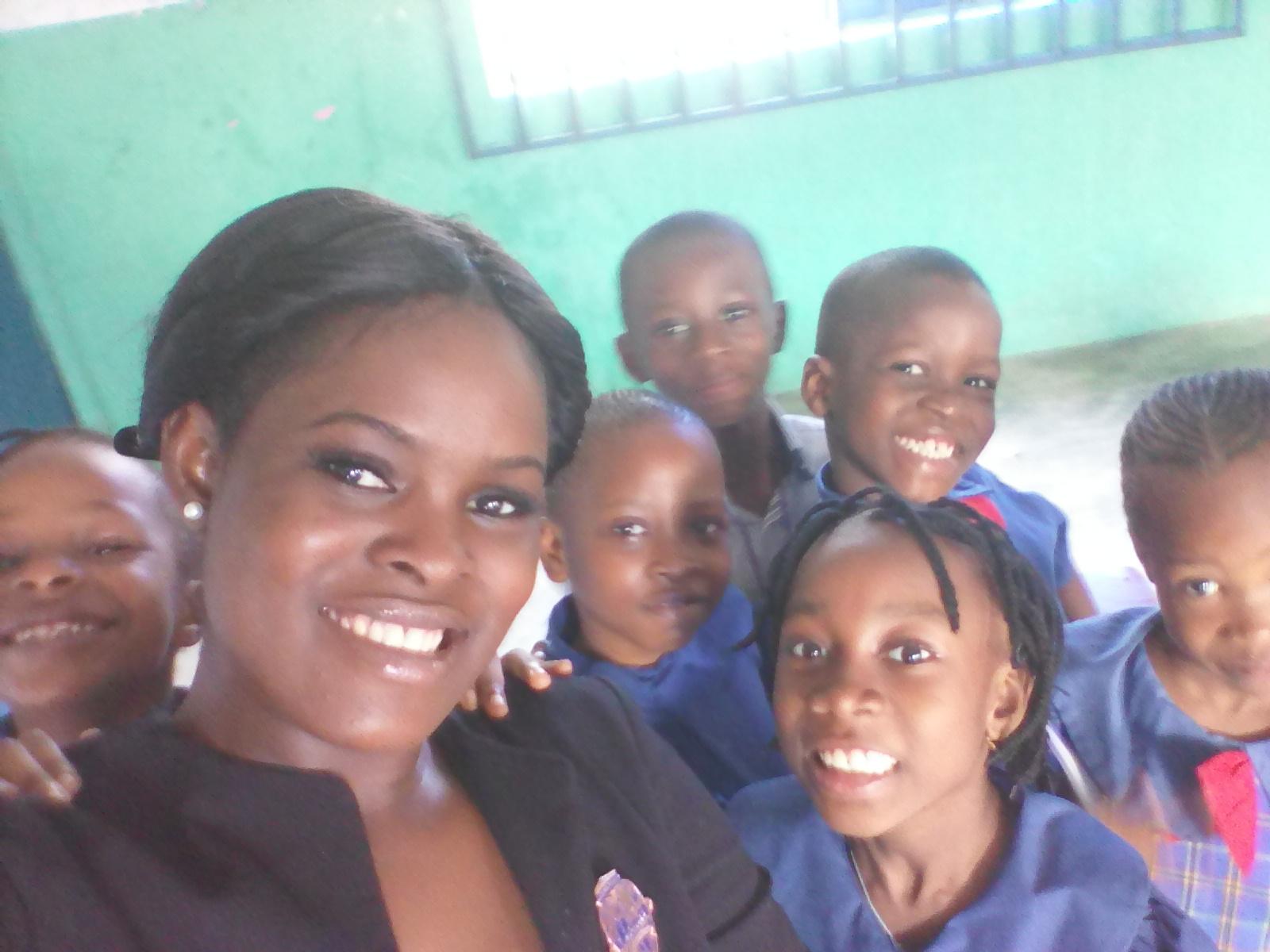 Teaching this Kids Spoken English
