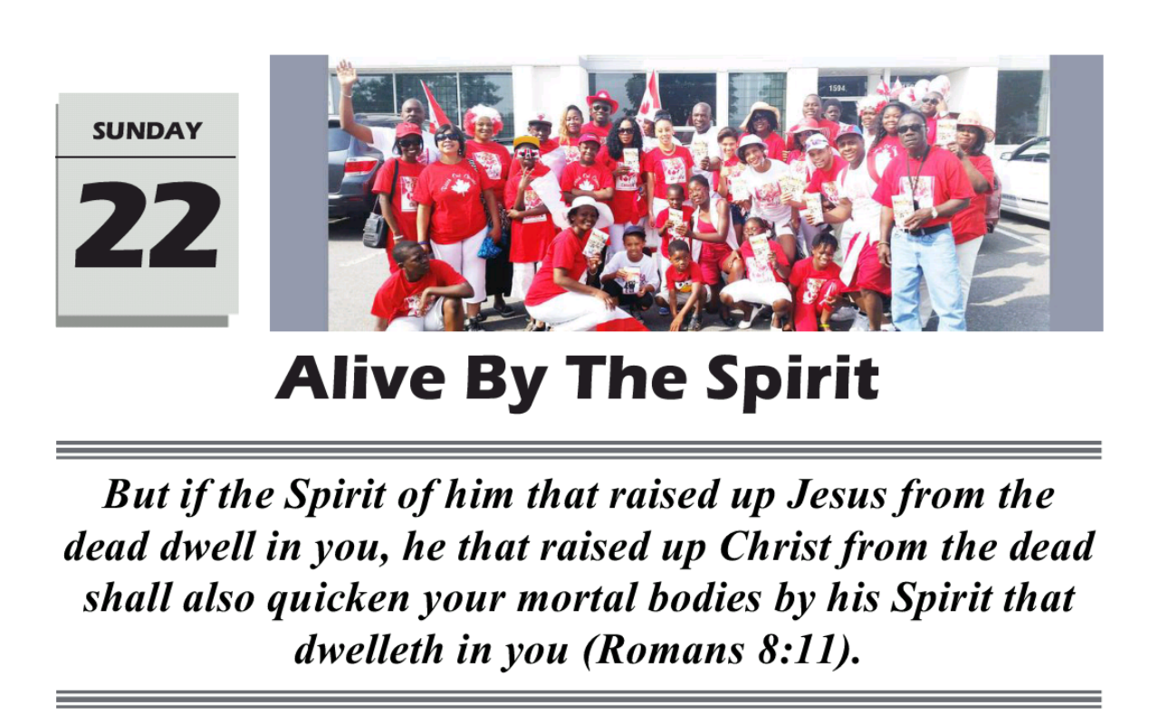 ALIVE BY THE SPIRIT Often,