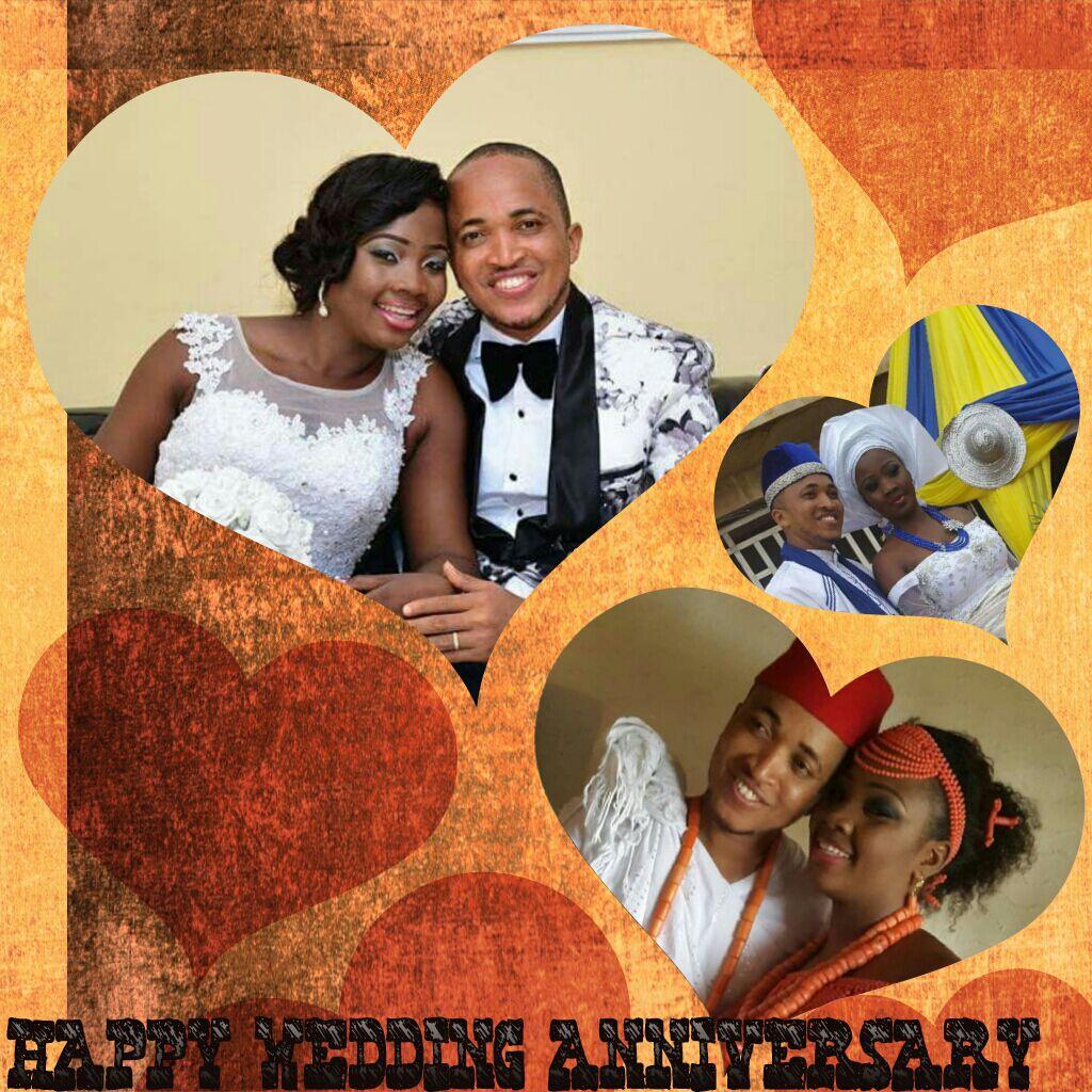 Happy Wedding Anniversary. We love