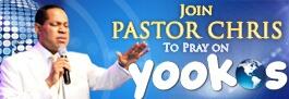 Pray With Pastor Chris! Prayer
