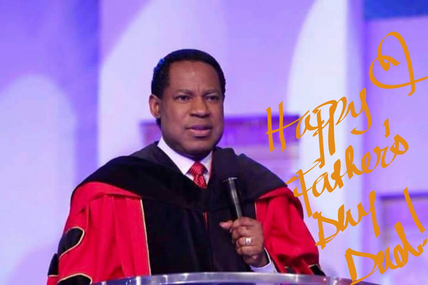 Happy Father's Day Pastor Sir!
