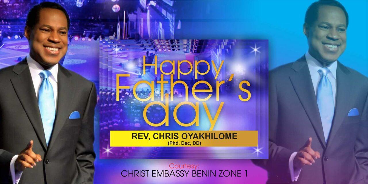 Dearest father, We celebrate you
