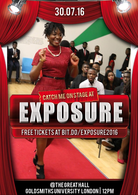 I see #Exposure2016 everywhere!! #TalentsOnFire