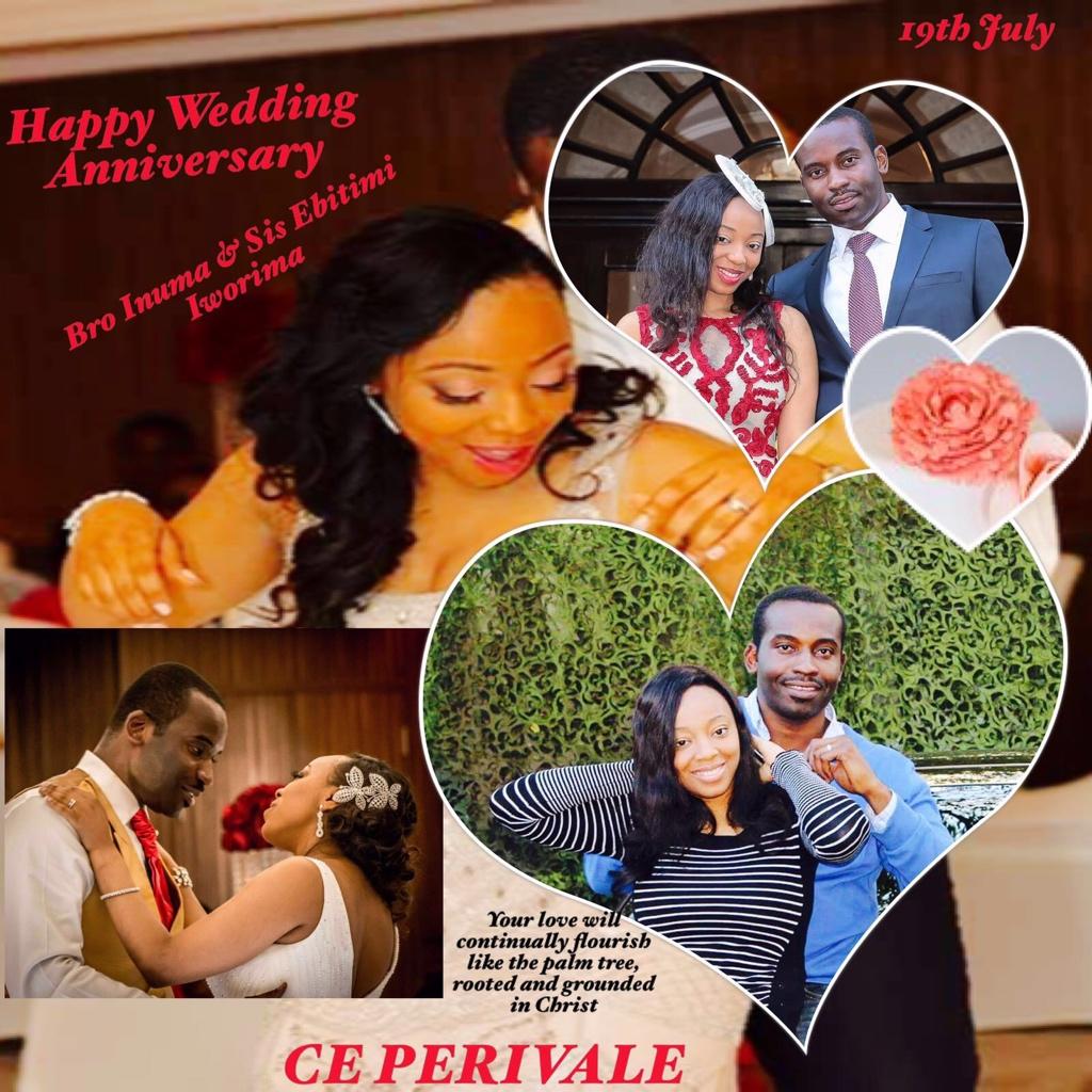 Congrats and happy wedding anniversary