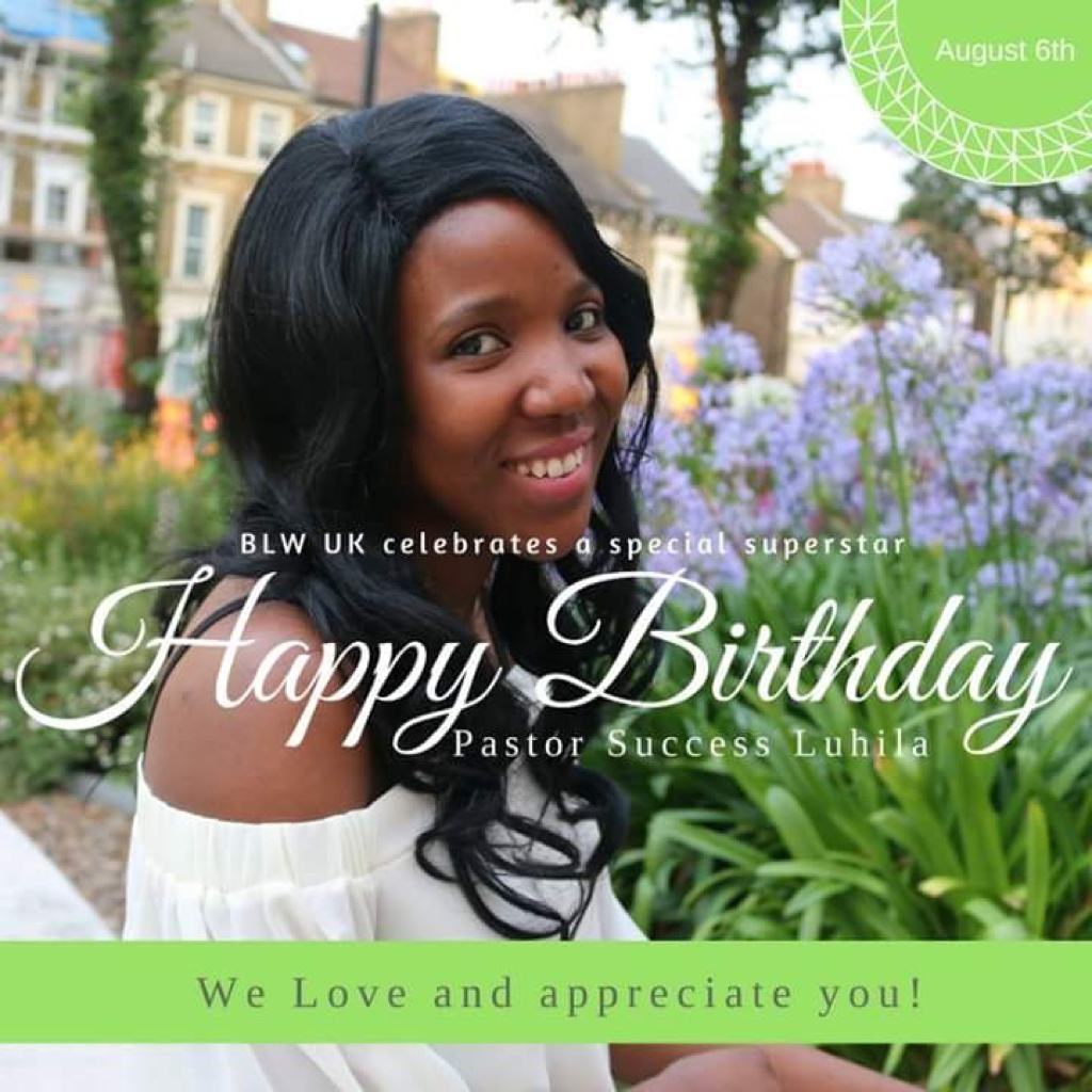 Happy Birthday Pastor Success. You