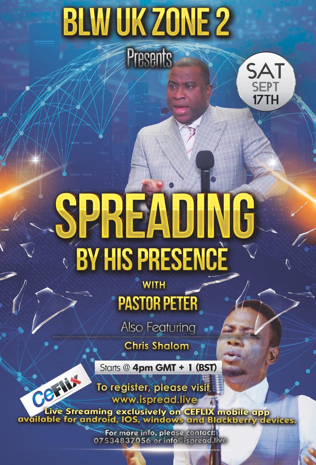 #spreadingbyhispresence #ispread
