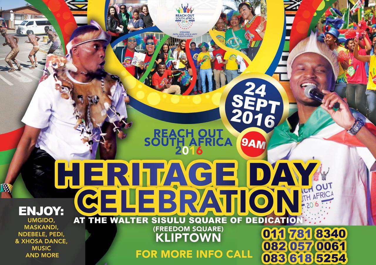 In celebration of Heritage Day