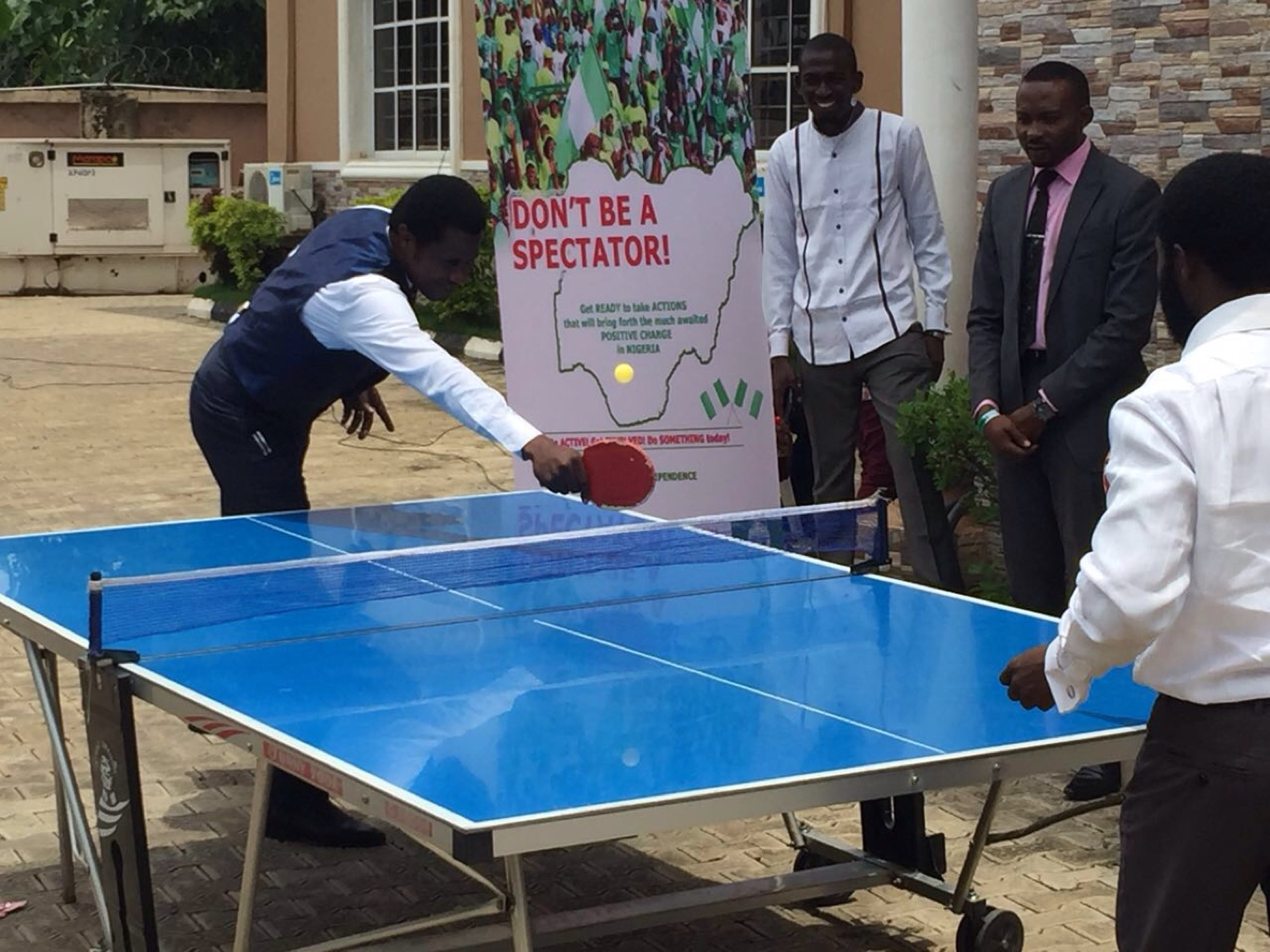 Table Tennis competition by our