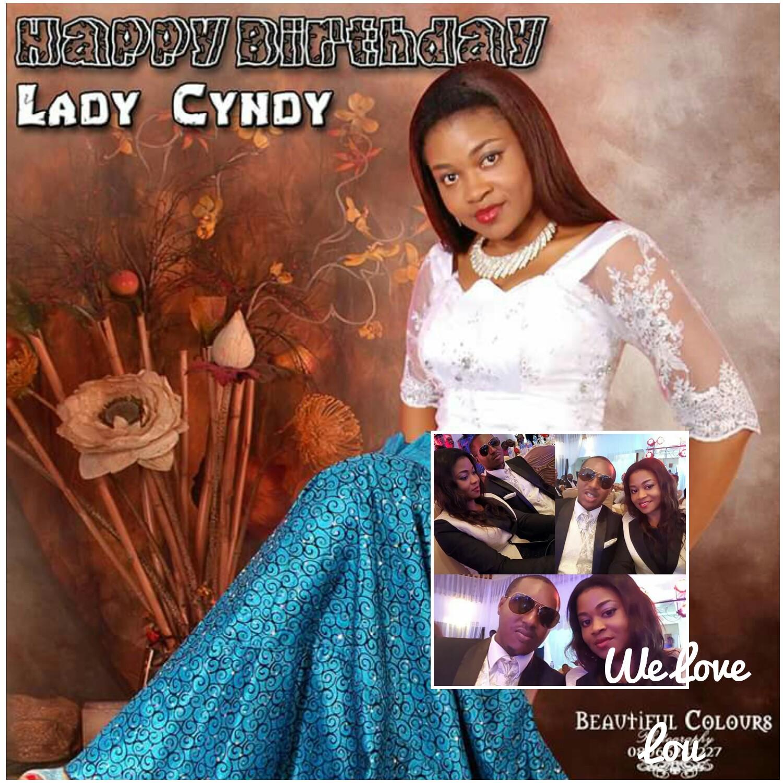 Happy Birthday Dear Sister Cynthia