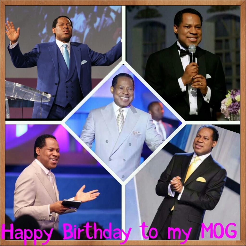 Happy birthday pastor sir! Thank