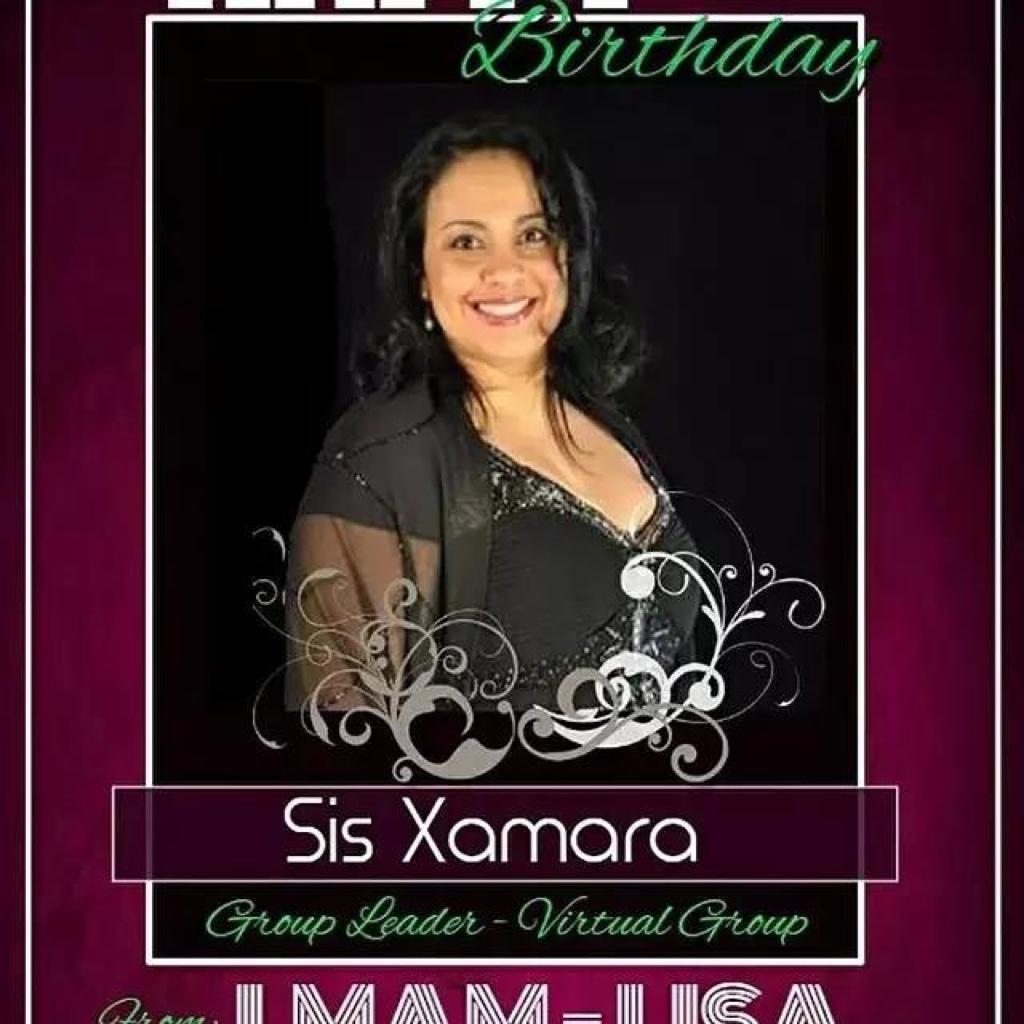 Happy Birthday Sis Xamara. Thank