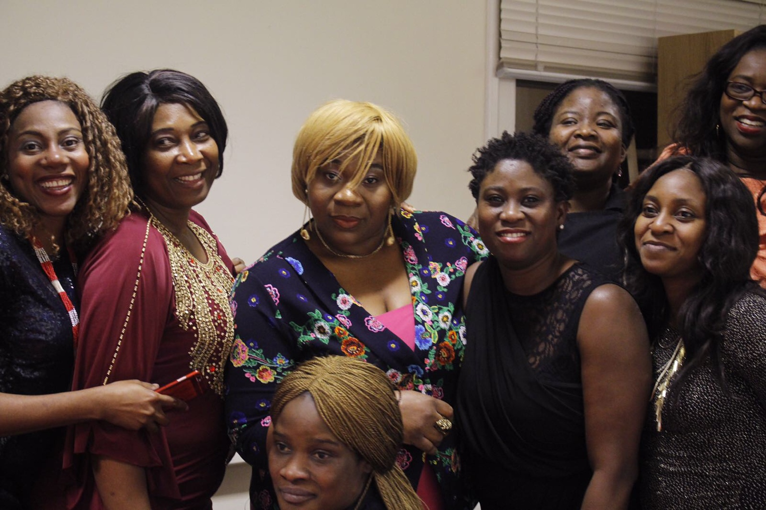 Just now with Deaconess @