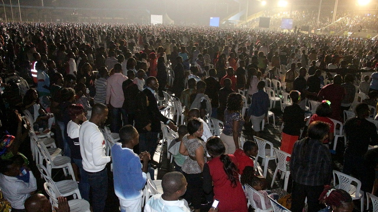 Thousands Attend New Year's Eve