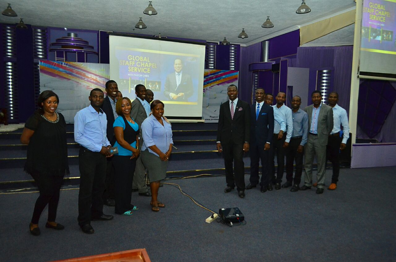 Global Staff Chapel with Pastor