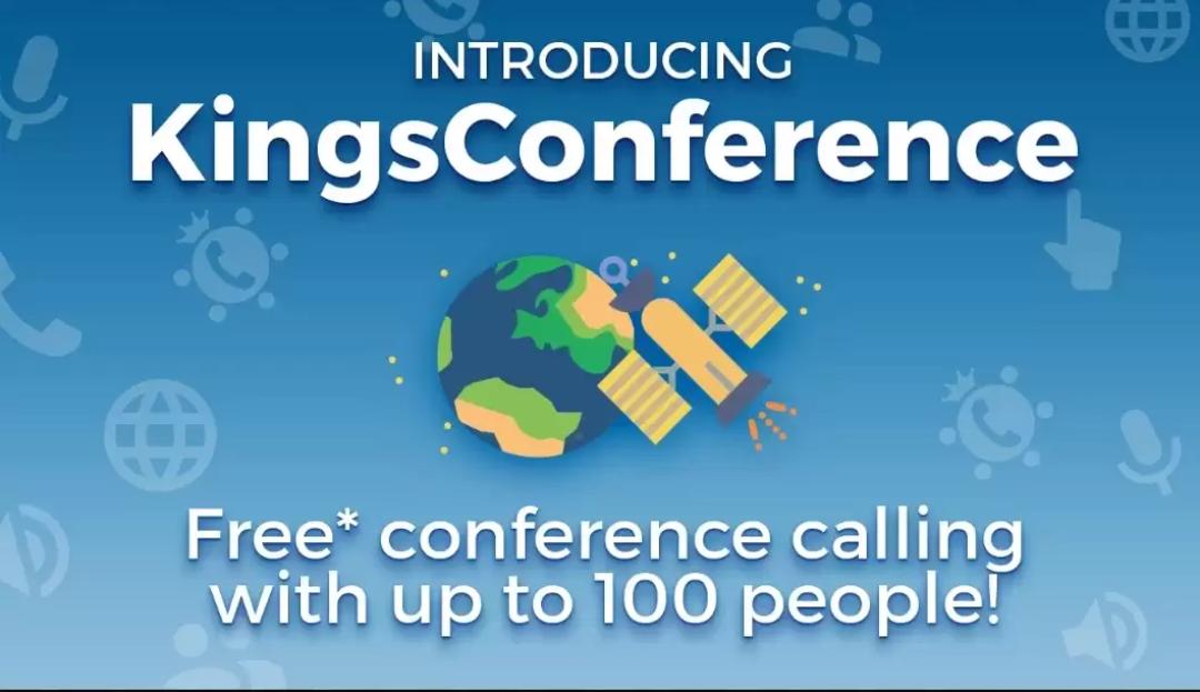 🔊 Introducing: KINGSCONFERENCE App🕪 KingsConfer