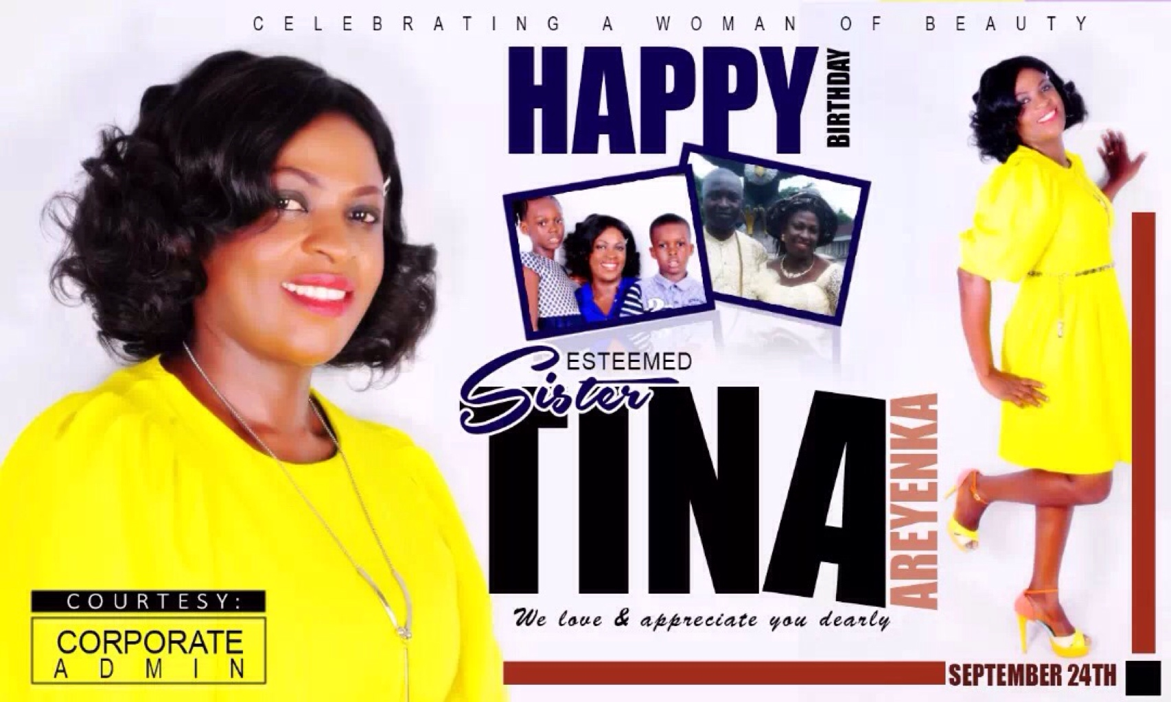 Happy Birthday Sister Tina Ma.