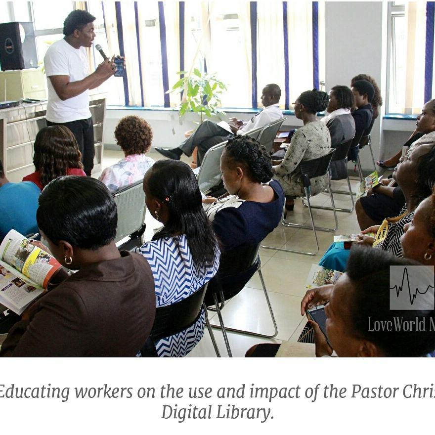 Pastor Chris Digital Library exposes