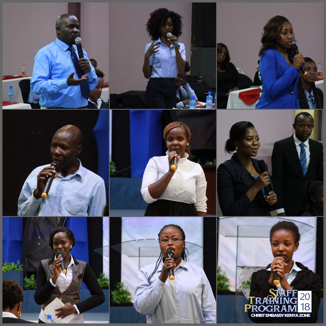 Christ Embassy Kenya Zone STAFF