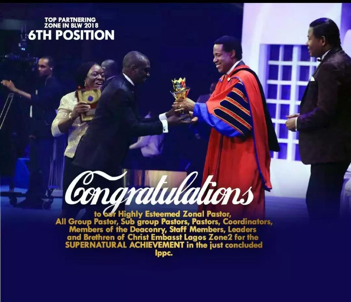 Congratulations Esteemed Pastor Sir and